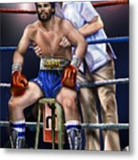 Duran Hands Of Stone 1a Metal Print