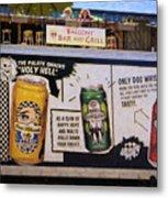 Durango Colorado Brewery Metal Print