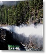 Durango Silverton Blowing Off Steam Metal Print