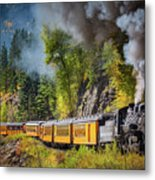 Durango-silverton Narrow Gauge Railroad Metal Print