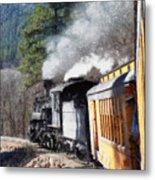 Durango Silverton Painterly 2 Metal Print