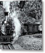 Durango Silverton Train Bandw Metal Print