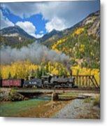 Durango-silverton Twin Bridges Metal Print