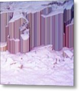 During The Snow Fall 33  Metal Print