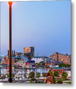 Dusk At Federal Hill Metal Print