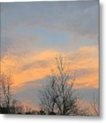 Dusk From The Deck Metal Print