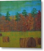 Dusk In The County Metal Print