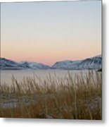 Dusk On Grundarfjordur Metal Print