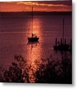 Dusk On The Bay Metal Print