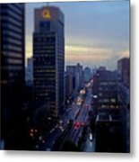 Dusk View From My Suite Metal Print