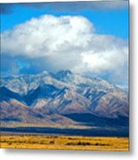 Dusting Of Snow, Dos Cabezas Metal Print