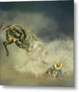 Dusty Britches Metal Print