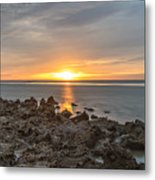 Dutch December Beach 002 Metal Print