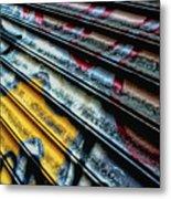 Dutch Graffiti Metal Print