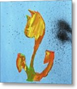 Dutch Pride Yellow And Orange Metal Print