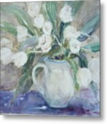 Dutch Tulips Metal Print by Dorothy Herron