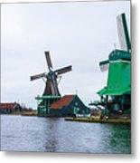 Dutch Windmills 1 Metal Print