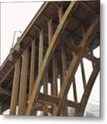 Dvp Bridge Metal Print