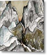 Dwimorberg     The Haunted Mountain  Metal Print