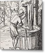 Dyer. 19th Century Reproduction Of 16th Metal Print