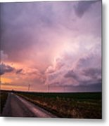 Dying Supercell Metal Print