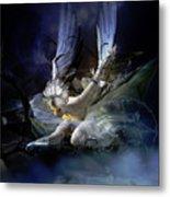 Dying Swan Metal Print