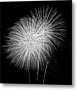 Bang Bang Black And White  Metal Print