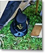 E Company Black Hat Metal Print