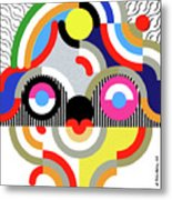 E Motion - Princess Face 1 Metal Print