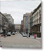 E Street Panorama Metal Print