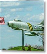 Eaa F-86 Sabre Metal Print