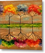 Each Tree By Its Smell Metal Print