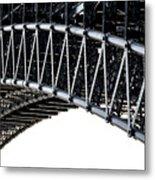 Eads Bridge Metal Print