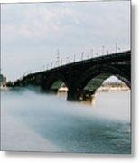 Eads Bridge St. Louis Missouri Metal Print