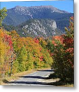 Eagle Cliff And Lafayette Metal Print