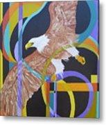 Eagle Dance Metal Print