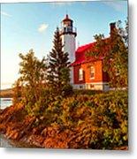 Eagle Harbor Lighthouse, Michigan Metal Print