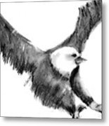 Eagle In Flight Metal Print