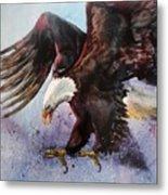 Eagle Of Light Metal Print