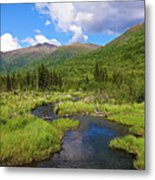 Eagle River- Alaska Metal Print