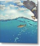 Eaglenfish Metal Print