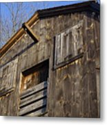 Early American Barn Metal Print