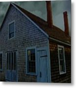 Early American Moonlight Metal Print