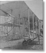Early Aviation Metal Print by Gwyn Newcombe