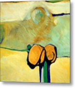 Early Blob 2 Jump Rope Metal Print