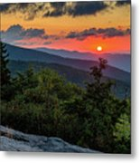 Blue Ridge Parkway Sunrise - Beacon Heights - North Carolina Metal Print