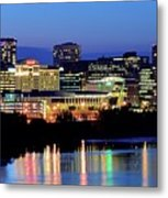 Early Evening In Hartford Metal Print