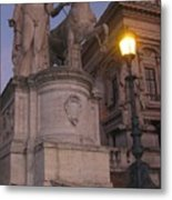 Early Evening In Rome Metal Print
