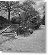 Early Evening Nyc Central Park Metal Print