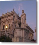 Early Evening Rome Number Two Metal Print